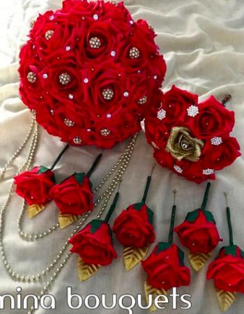 Amina's Bouquets & Bridal Jewellery